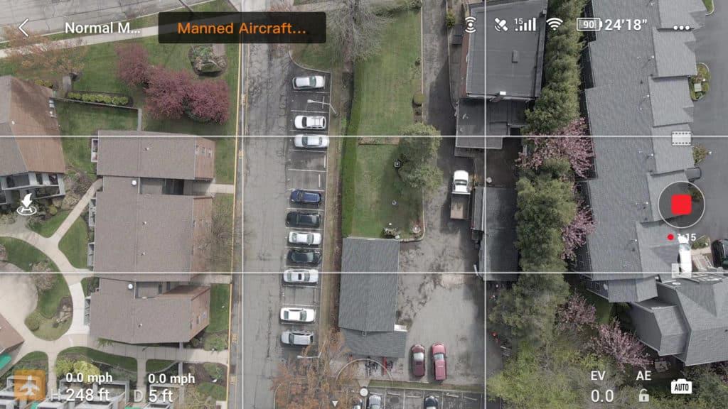 vue aerienne drone camera